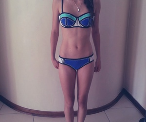 bikini, greatful, and swiming image