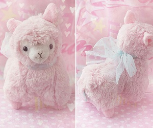pink, cute, and animal image