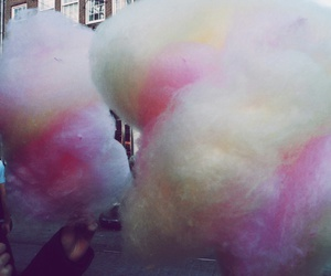 cotton candy, grunge, and sugar image