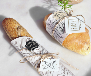 baguette, bakery, and bread image