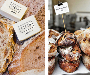 bakery, bread, and butter image