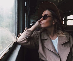 cool, girl, and hat image