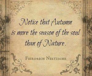 autumn, quotes, and nature image