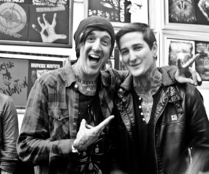 austin carlile, mitch lucker, and suicide silence image