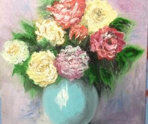 art, artist, and oils image
