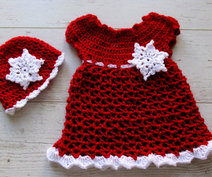 baby outfit, etsy, and snowflakes image