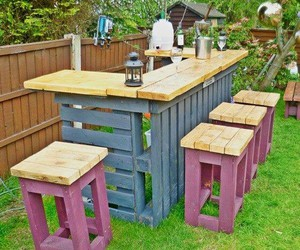 diy, bar, and garden image