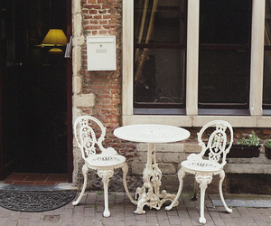 vintage, chair, and photography image