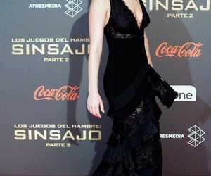 Jennifer Lawrence, beauty, and black image