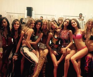 Victoria's Secret, model, and backstage image