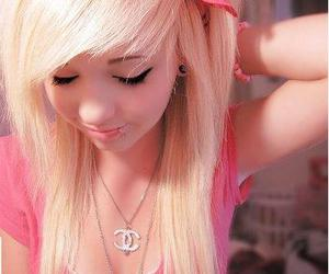 aw, blonde, and girl image