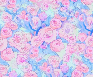 flores, girly, and pastel image