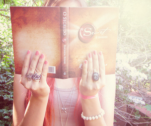 acessories, book, and girl image