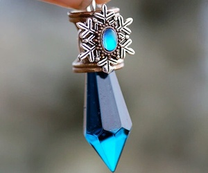 blue, power, and crystal image