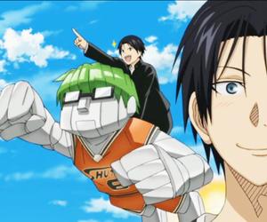 knb, midorima shintarou, and takao kazunari image