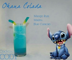 drink, stitch, and alcohol image