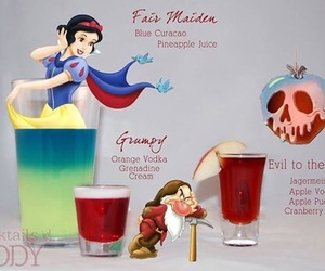 disney, cocktail, and drink image