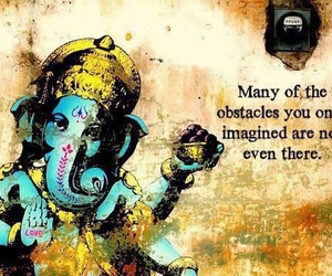 Ganesh, life, and obstacles image