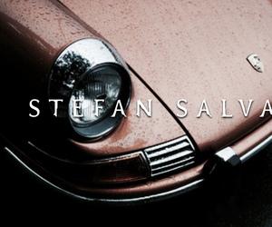 car, paul wesley, and stefan salvatore image