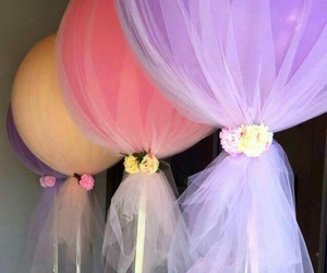 balloons, party, and diy image
