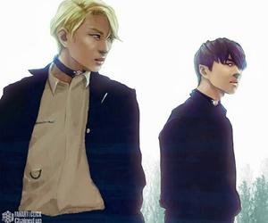 fanart, ken, and kpop image