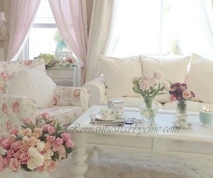 pastel, pink, and shabby chic image
