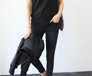 black, fashion, and spring image