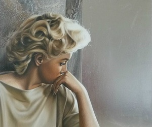 amazing, blonde, and vintage image
