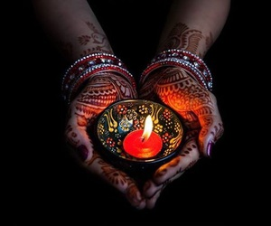 beautiful, indian, and diwali image