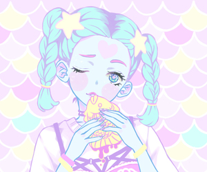 kawaii, pastel, and art image