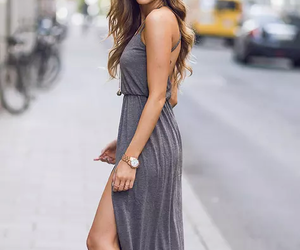 fashion, dress, and converse image