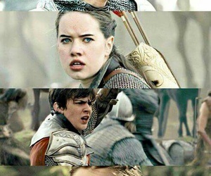 edmund pevensie, narnia, and warriors image