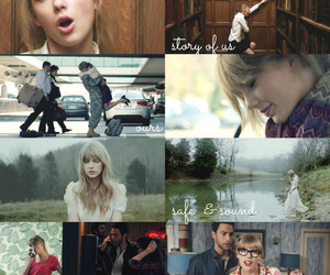 Collage, Taylor Swift, and story of us image
