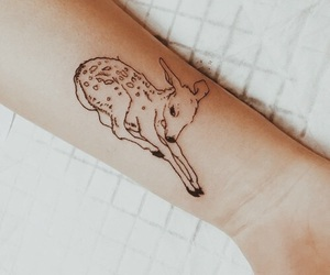 tattoo, bambi, and deer image