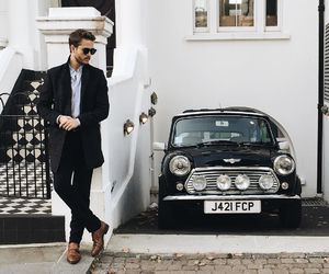 fashion, boy, and car image