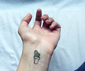 tattoo and cactus image
