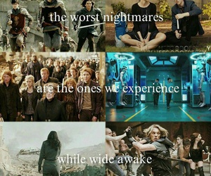 art, harry potter, and hunger games image