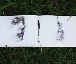 arte, drawing, and pen image