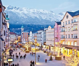 austria, christmas, and snow image
