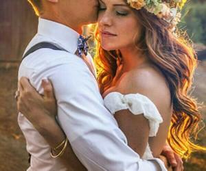 bride, casamento, and couple image