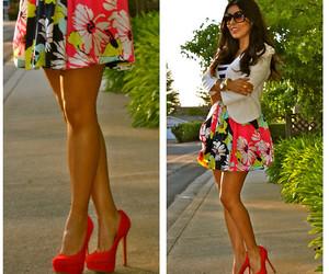 fashion, girl, and high heels image