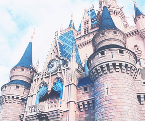 disney, castle, and princess image
