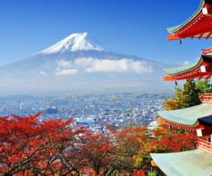 japan and travel image