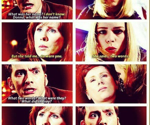 bad wolf, doctor who, and donna image
