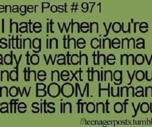 cinema, funny, and giraffe image