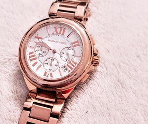 watch, gold, and rose gold image