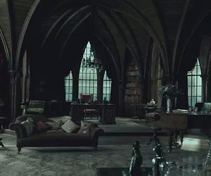 dark, gothic, and room image