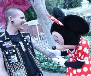 punk, disney, and tattoo image