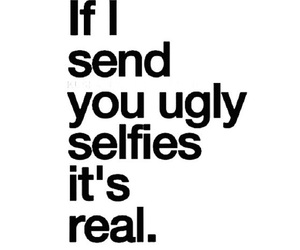 quote, ugly, and lol image