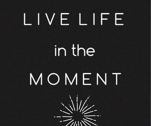 in, live, and life image